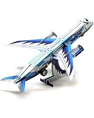 Felhúzható 3D puzzle - személyszállító repülőgép - 2. kép
