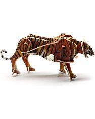 Felhúzható 3D puzzle - tigris - 2. kép