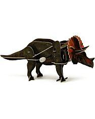 Felhúzható 3D puzzle - Triceratops - 2. kép