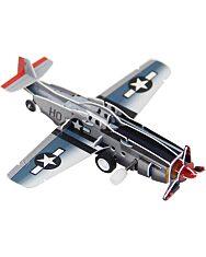 Felhúzható 3D puzzle - vadászgép - 2. kép