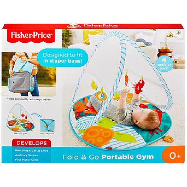 Fisher-Price: halacskás praktikus játszószőnyeg - 1. kép