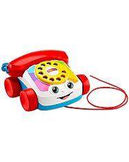 Fisher-Price: Készségfejlesztő klasszikus tárcsás telefon - 1. kép