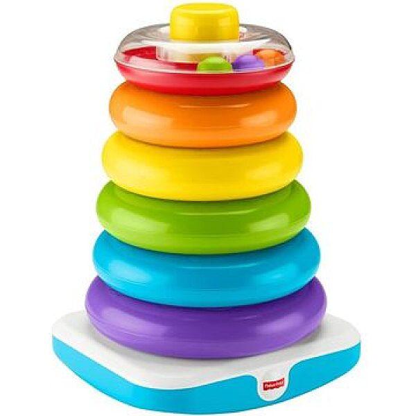 Fisher Price: Óriás színes gyűrűpiramis - 1. kép