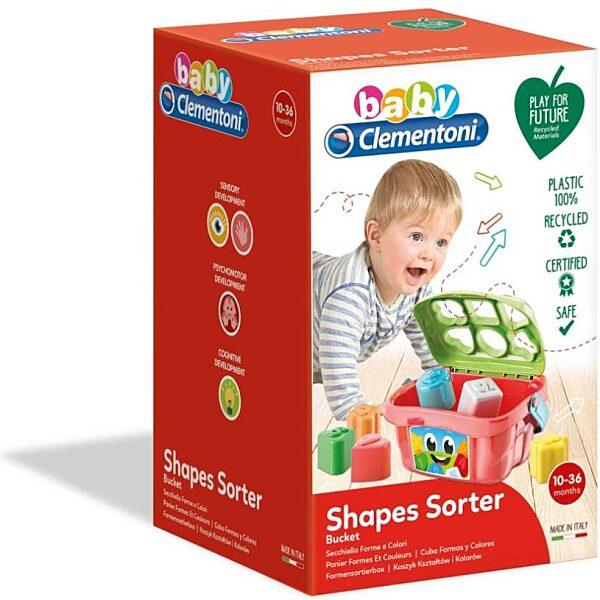 Formaevő dobozka - Clementoni Baby - 2. kép