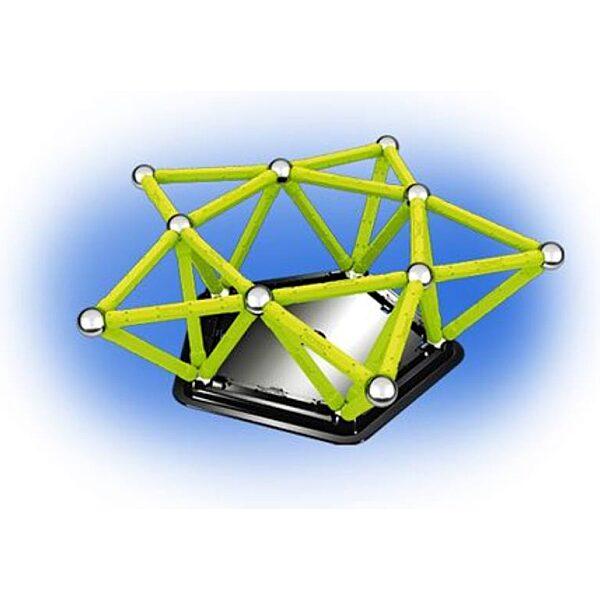 Geomag Glow - foszforeszkáló 64 darabos készlet - 5. kép