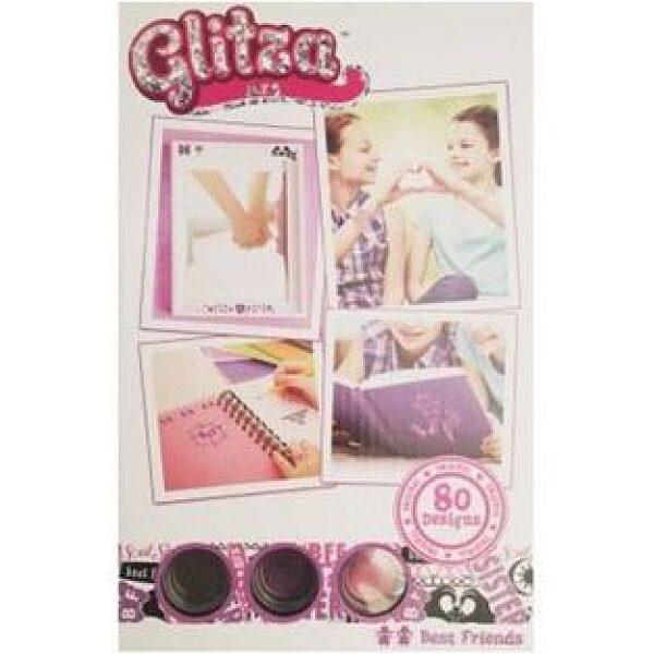 Glitza csillámtetoválás: 80 mintás - legjobb barátok - 1. kép