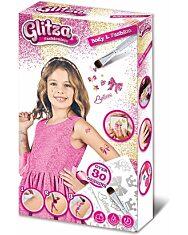 Glitza Fashionista csillámtetkó Body and Fashion kezdőszett