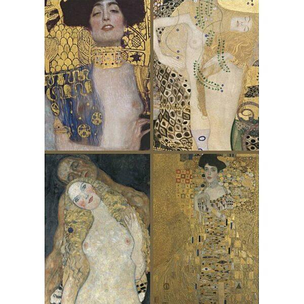 Gustav Klimt kollekció 1000 db-os puzzle - Piatnik - 1. kép