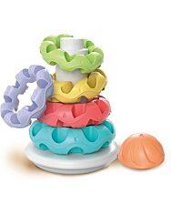 Gyűrűs építőtorony - Clementoni Baby - 1. kép