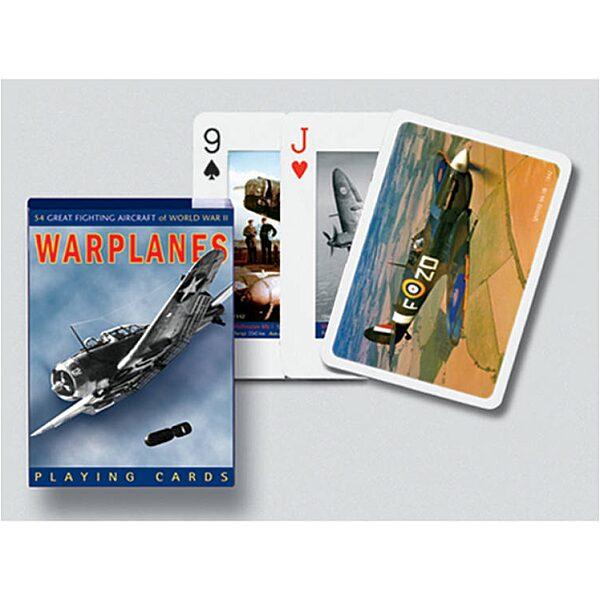 Harci repülők 1x55 lapos römi kártya - 1. kép