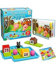 Három kismalac készségfejlesztő játék - 1. kép