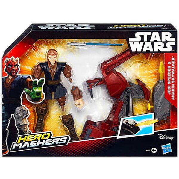 Hero Mashers: Star Wars Jedi Speeder és Anakin Skywalker - 1. kép