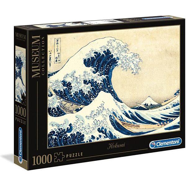 Hokuszai: A nagy hullám 1000 db-os puzzle - Clementoni - 2. kép