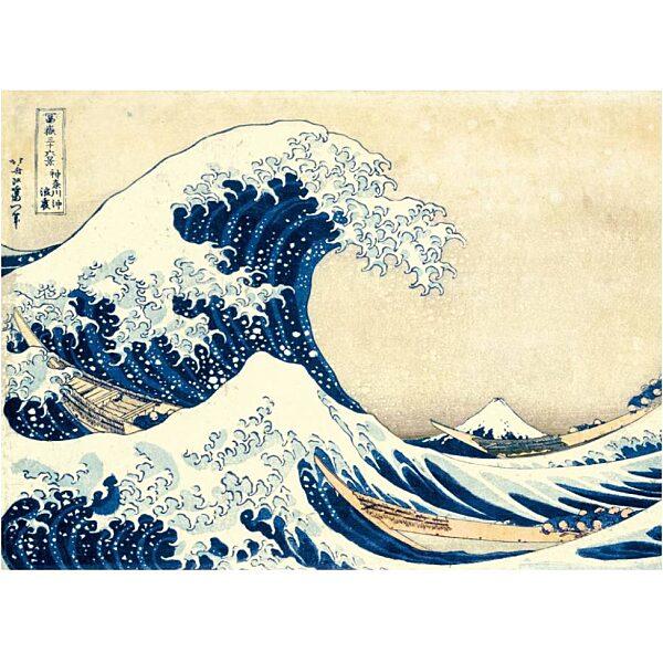 Hokuszai: A nagy hullám 1000 db-os puzzle - Clementoni - 1. kép