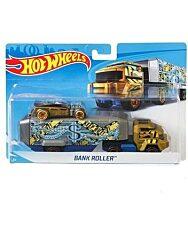 Hot Wheels: Bank Roller autószállító kamion - 1. kép