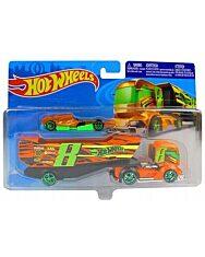 Hot Wheels: Big Rig Heat autószállító kamion - 1. kép
