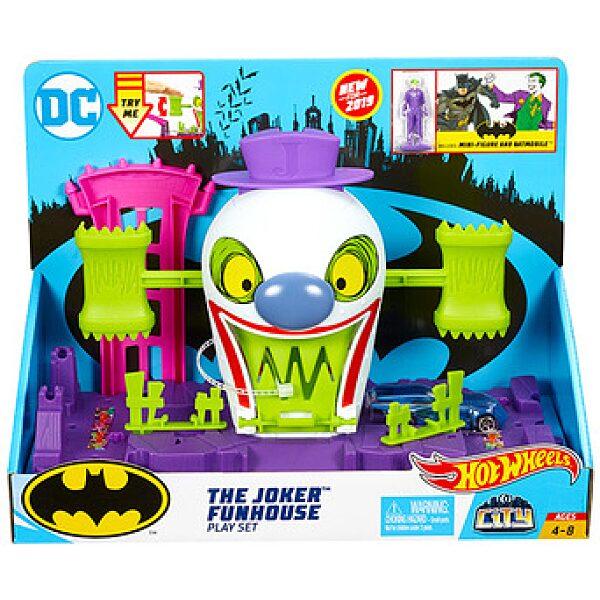 Hot Wheels City: Joker Elvarázsolt Kastély játékszett - 1. kép