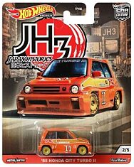 Hot Wheels Japan Historics 3: 85 Honda City Turbo II - 1. kép