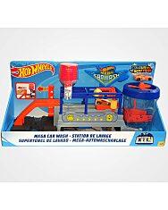 Hot Wheels: Mega autómosó (Mega Car Wash) színváltós autóval (Mattel)