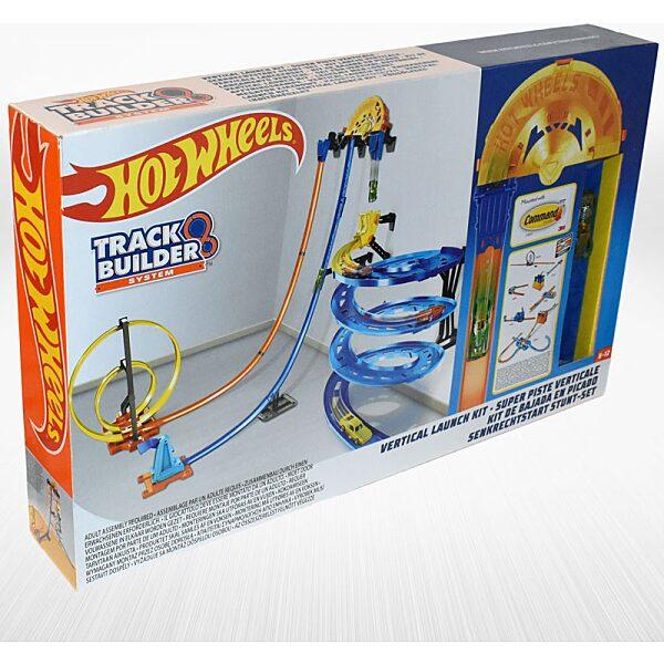 Hot Wheels függőleges szuperpálya indítókészlet (Track Builder) jobb oldalról