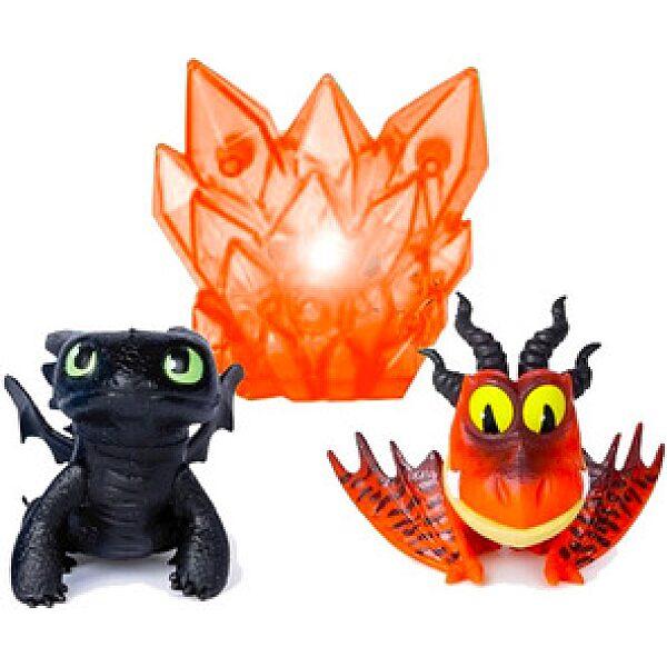 Így neveld a sárkányodat 3: Fogatlan és Kampó sárkány figura - 1. kép