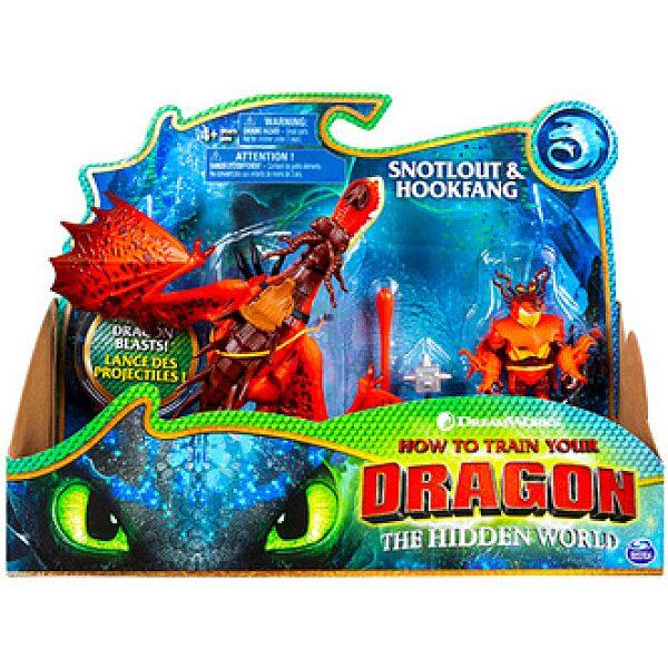 Így neveld a sárkányodat: Takonypóc és Kampó figura - 1. kép