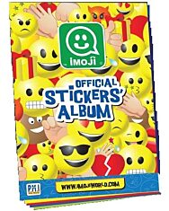 Imoji figurák matricaalbum - 1. kép