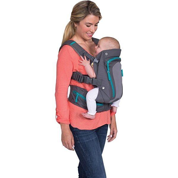 Infantino Carry On Multi-Pocket hordozó kenguru - 2. kép