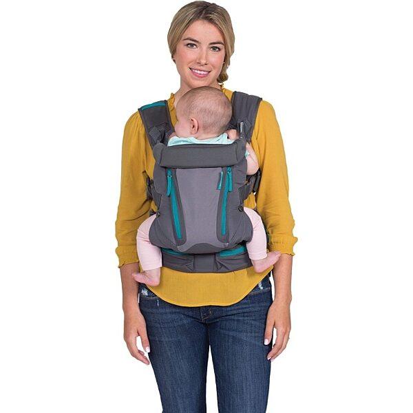 Infantino Carry On Multi-Pocket hordozó kenguru - 5. kép