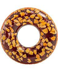Intex: Csokis-mogyorós fánk úszógumi - 114 cm - 1. kép