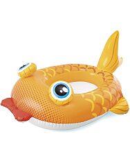 Felfújható gyermekcsónak - sárga hal - 1. Kép