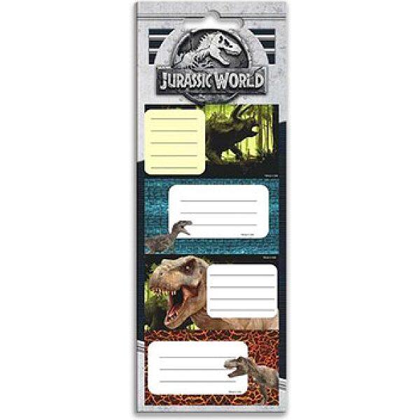 Jurassic World: füzetcímke