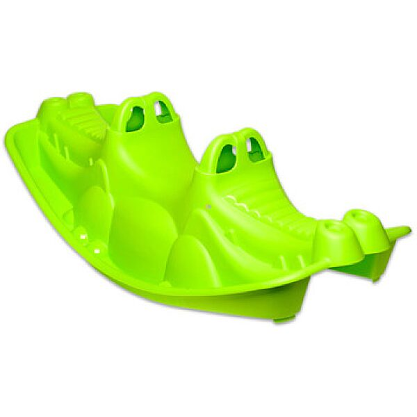 Krokodil libikóka - zöld - 1. kép