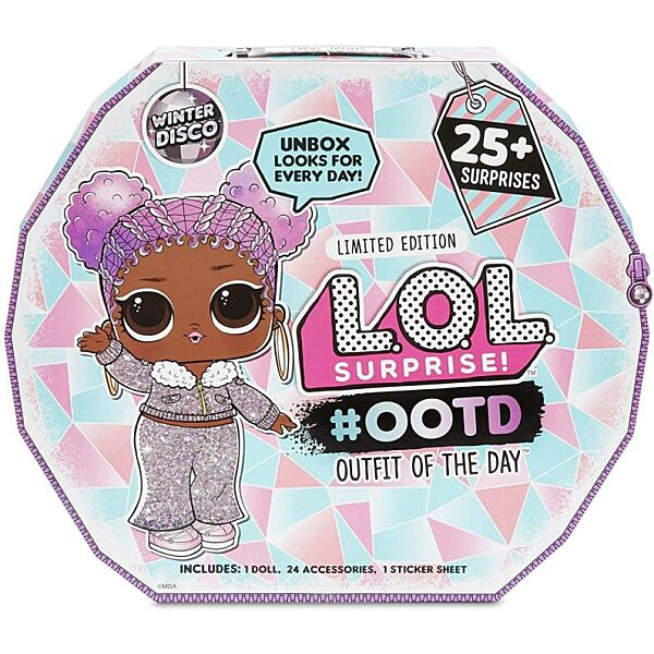 L.O.L Surprise Outfit of the day - Winter Disco edition - 1. kép