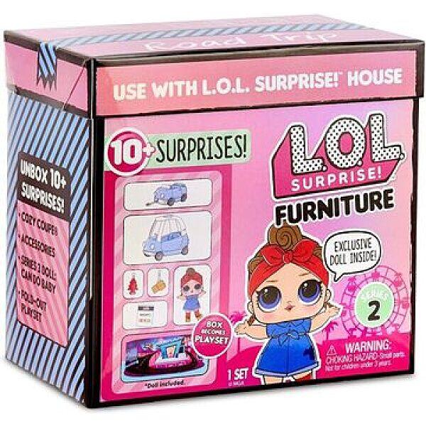 L.O.L. Surprise: Kocsikázás játékszett - 1. kép