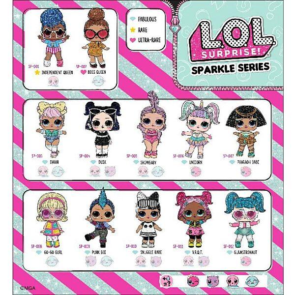 L.O.L. Surprise Sparkle Series - a legcsillogóbb LOL babák - 5. kép
