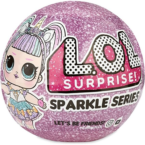 L.O.L. Surprise Sparkle Series - a legcsillogóbb LOL babák - 1. kép