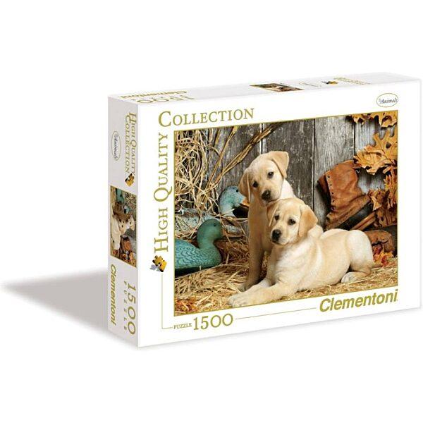 Labradorok 1500 db-os puzzle - Clementoni - 3. kép
