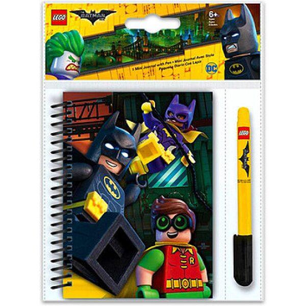 LEGO Batman Movie: mini napló zselés tollal - 1. kép