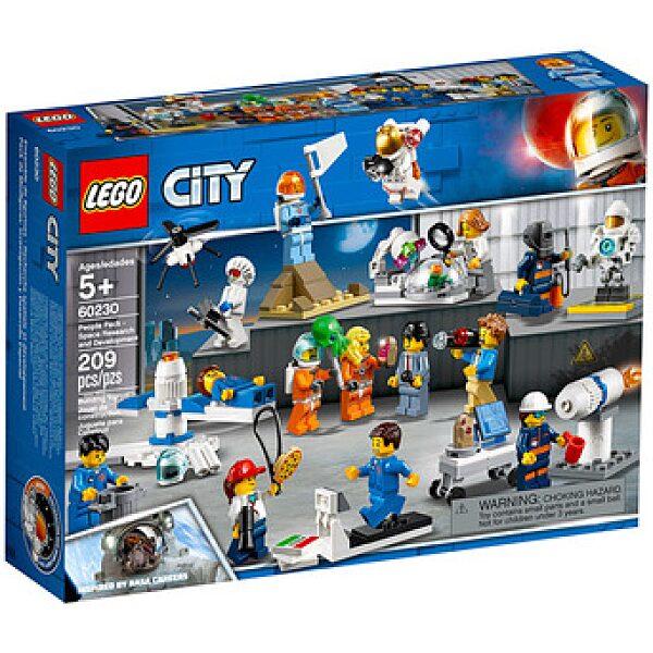LEGO City: Figuracsomag - Űrkutatás és fejlesztés 60230 - 1. kép