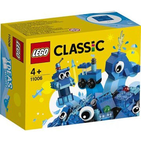 LEGO Classic: Kreatív kék kockák 11006 - 1. kép