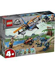 LEGO Jurassic World: Velociraptor - Kétfedelű repülőgépes mentőakció 75942 - 1. kép