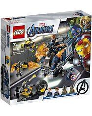 LEGO Marvel Super Heroes: Bosszúállók Teherautós üldözés 76143 - 1. kép