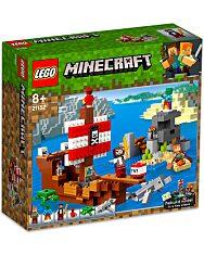 LEGO Minecraft: A kalózhajós kaland 21152 - 1. kép