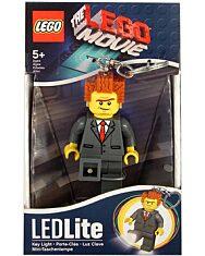 LEGO MOVIE: Lord Business világító kulcstartó - 1. kép