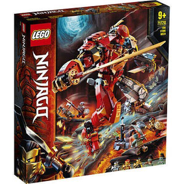 LEGO Ninjago: Tűzkő robot 71720 - 1. kép