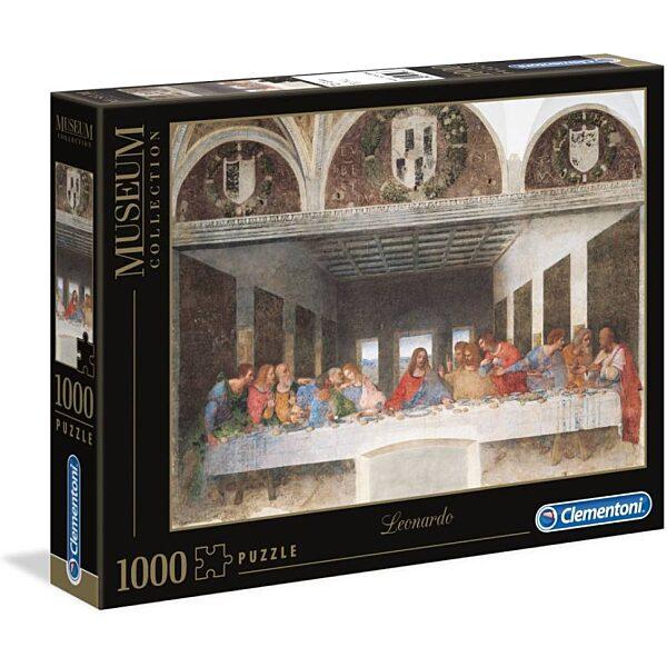 Leonardo Da Vinci: Utolsó vacsora 1000 db-os puzzle - Clementoni - 2. kép