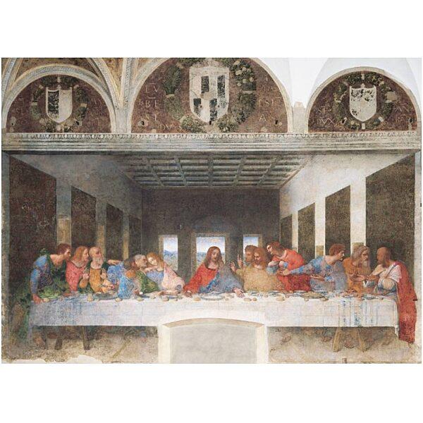 Leonardo Da Vinci: Utolsó vacsora 1000 db-os puzzle - Clementoni - 1. kép
