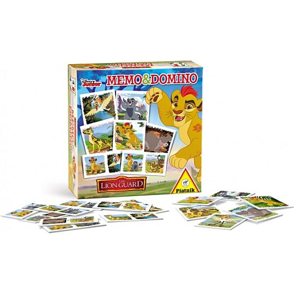 Lion Guard Memo&Domino - 1. kép