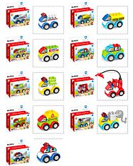 Luna Blocks: autó - többféle - 1. kép